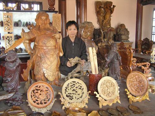 Làng mộc Kim Bồng - Điểm du lịch Hội An hấp dẫn.