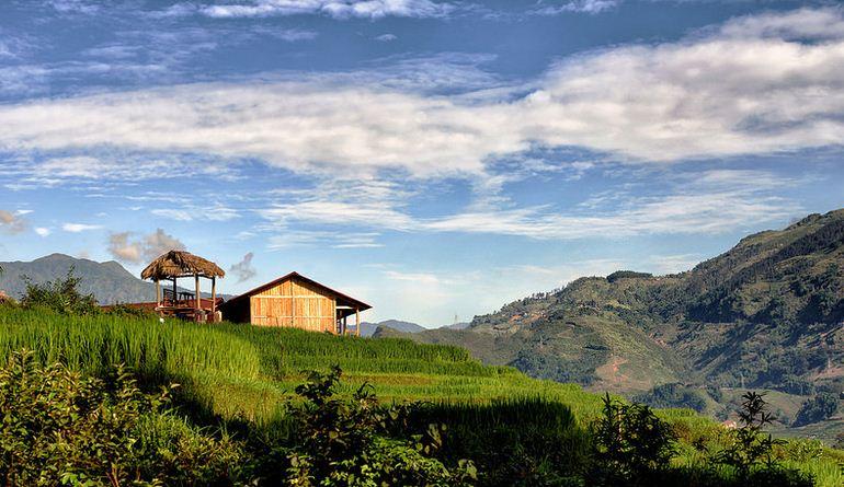 Thung lũng Mai Châu đẹp như tranh.