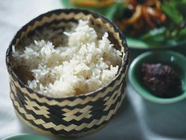 Xôi nếp, món ngon của Mai Châu.