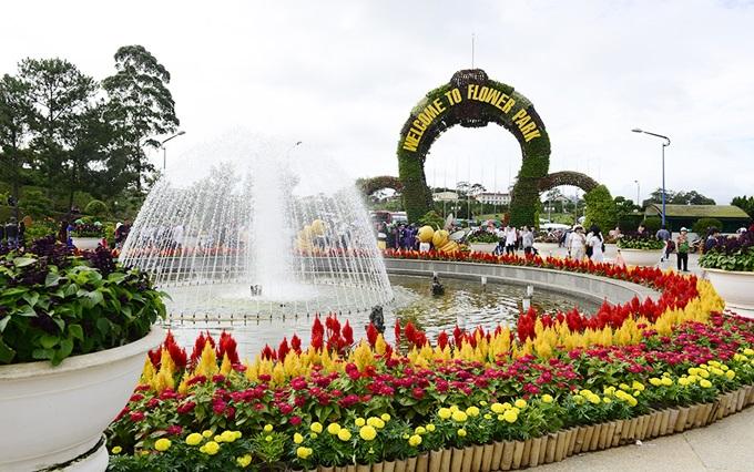 Vườn hoa Đà Lạt - Điểm du lịch Đà Lạt hấp dẫn.