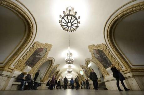 12 ga tàu điện ngầm ấn tượng nhất châu Âu