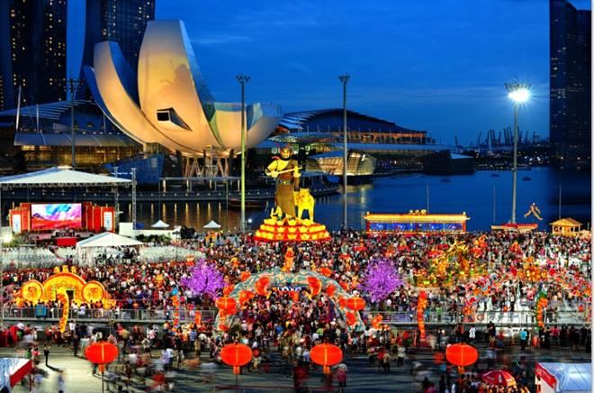 Singapore là một trong số ít quốc gia đón Tết Nguyên đán giống Việt Nam