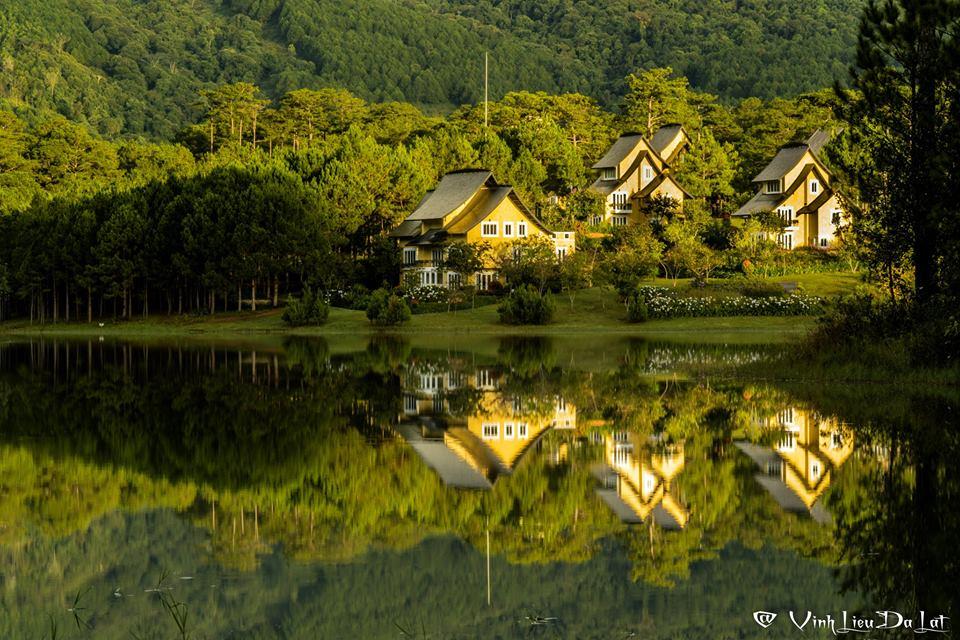 Một góc hồ Tuyền Lâm – Đà Lạt.
