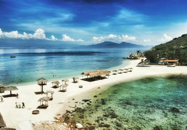 Đảo Yến xinh đẹp.