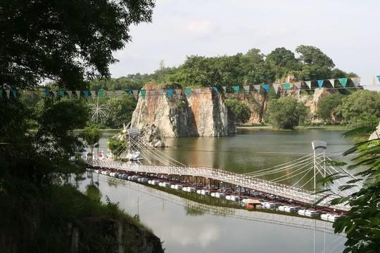 Khu du lịch Bửu Long mang đến cho du khách cảm giác bình yên, thanh thản - Ảnh: diadiembamien.com