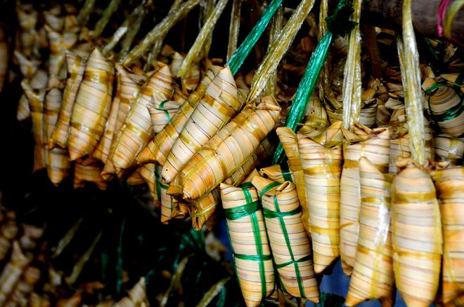 Bánh lá dừa - món quà đi cùng ký ức người miền Tây