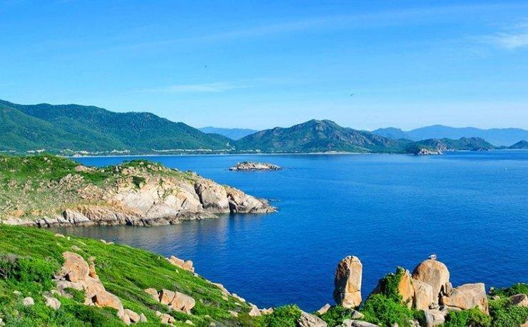 Biển Ninh Chữ hoang sơ, hùng vĩ