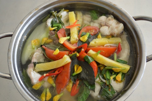 Bông điên điển tươi nấu món gì cũng ngon và tạo nên hương vị rất riêng