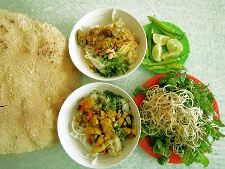 Mỳ Quảng là món ăn đặc trưng của Đà Nẵng