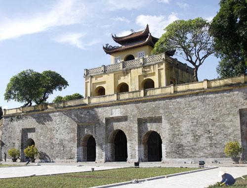 Dấu tích hoàng thành Thăng Long