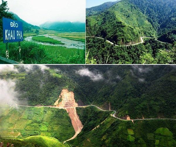 Điểm đến đèo Khau Phạ