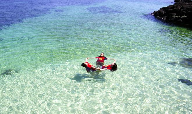 Đẹp lãng mạn nơi biển đảo Lý Sơn