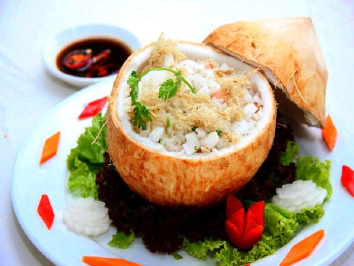 Đặc sản Bến Tre - Cơm dừa