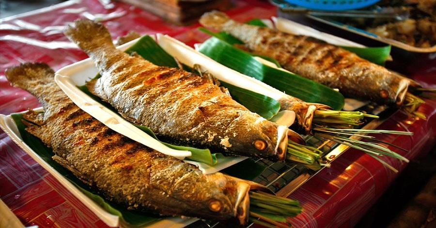 Cá nướng hay còn gọi là Pa Pỉnh Tộp.