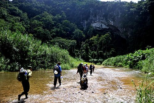 Hang Sơn Đoòng dự kiến đưa vào khai thác chính thức từ tháng 1/2015