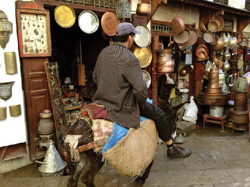 Một góc nhỏ ở cố đô Fes (hay còn gọi là Fez) của Marocco