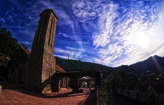Nhà thờ cổ ở Tam Đảo