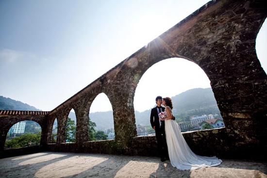 Đây là địa điểm đẹp tuyệt vời để chụp ảnh cưới