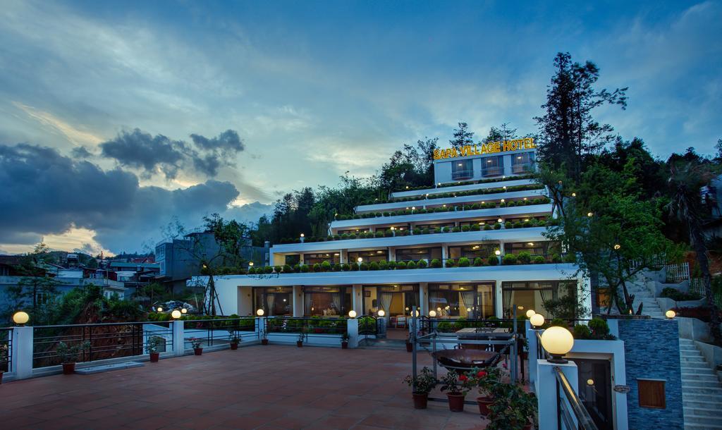 Khách sạn khu vực trung tâm Sapa.