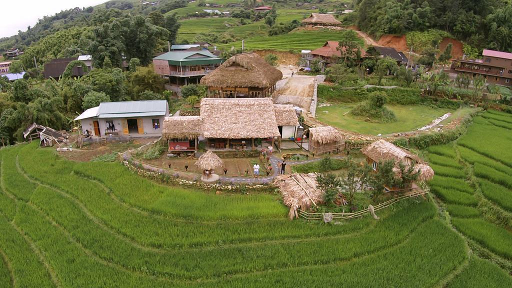 Ở các bản làng xa trung tâm Sapa có nhiều homestay đẹp.