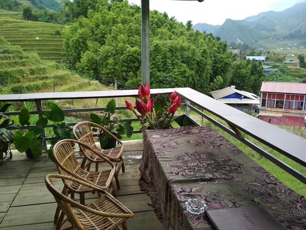 Ở các bản làng xa trung tâm Sapa có nhiều homestay đẹp. (Truong gian homestay)
