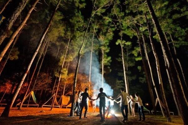 Kinh nghiệm đi cắm trại ở Vườn Quốc Gia Ba Vì