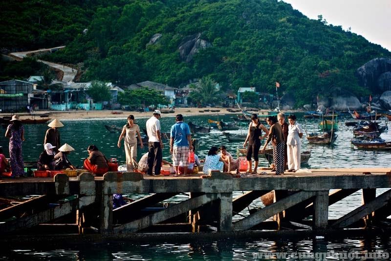 Vui chơi trên đảo: Thưởng thức Hải sản Chợ Tân Hiệp.