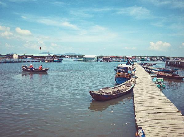 Trải nghiệm một ngày ở làng bè Long Sơn
