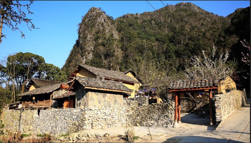 """Ngôi nhà được lấy làm bối cảnh trong phim """"Chuyện của Pao"""" ở xã Sủng Là (Đồng Văn)"""