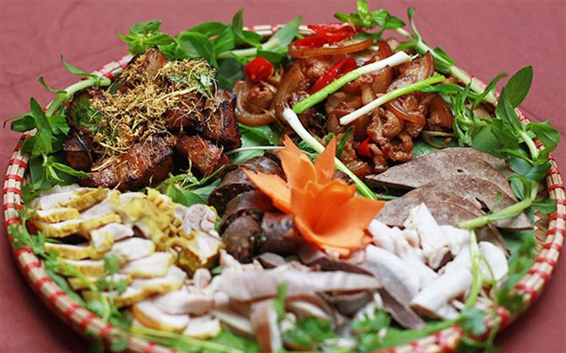 Món ăn ngon ở Tam Đảo: Lợn mán.