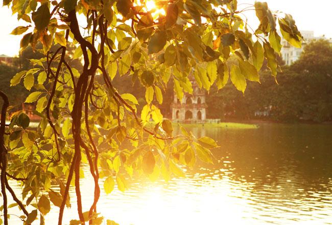 Ngắm Hà Nội thơ mộng, óng vàng mỗi chiều thu qua - 6