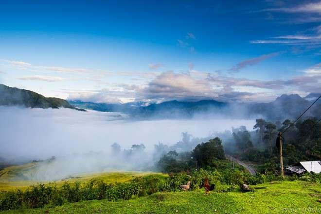 Khung cảnh thiên nhiên tươi đẹp của Sapa.