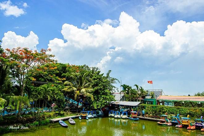 Nhắc đến Tiền Giang, du khách nhớ ngay đến trại rắn Đồng Tâm, nơi nghiên cứu rắn lớn nhất Đông Nam Á