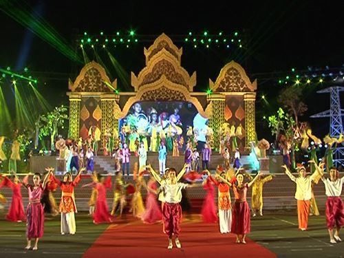 Lễ hội của đồng bào khmer ở Hậu Giang