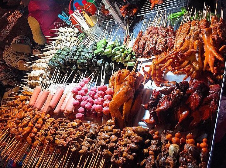 Thiên đường ẩm thực trong chợ đêm Đà Lạt