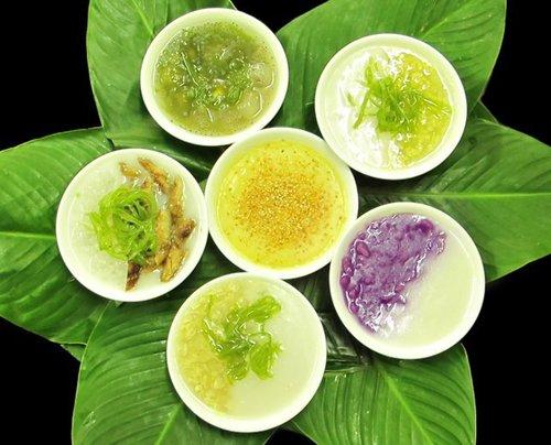 Chè Huế thu hút thực khách ở hương vị thơm ngon và trình bày đẹp mắt