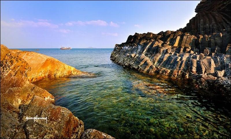 Biển Tuy Hòa.