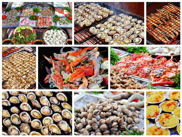 Du lịch Nha Trang mà không thưởng thức những món hải sản tại thành phố biển thì quả là một điều thiếu sót. Ảnh: ST