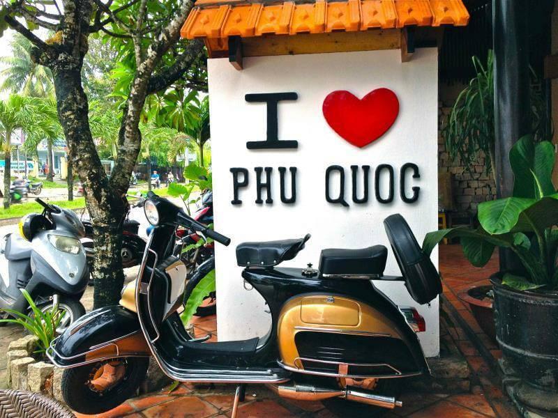 Hình ảnh quán cà phê I love Phu Quoc