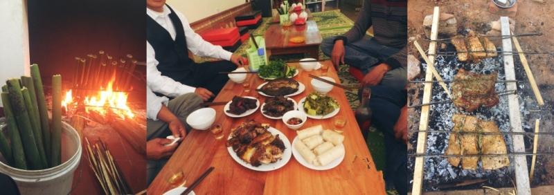 Nhà hàng Dũng Tươi - Cơm Lam - Gà - Cá Nướng