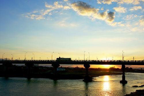 Hoàng hôn sông Đắkbla