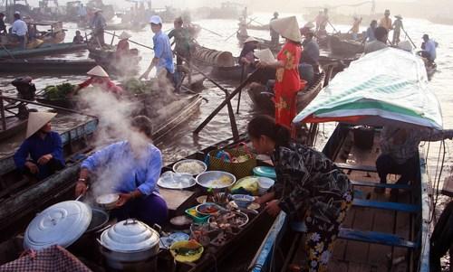 5 điểm du lịch chợ nổi Miền Tây Nam Bộ độc đáo nhất phần 3