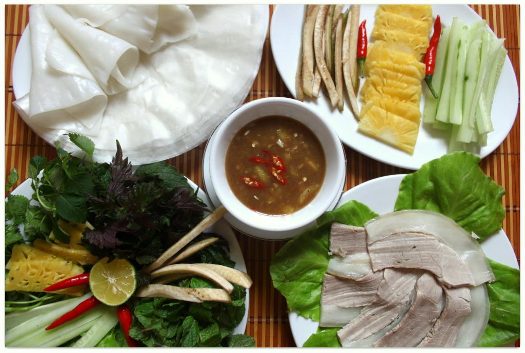 Bánh tráng thịt heo Đà Nẵng - Đặc sản Đà Nẵng hấp dẫn nhất