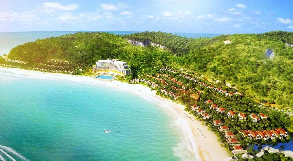 Vinpearl Bãi Trũ Nha Trang Resort (Ảnh ST)