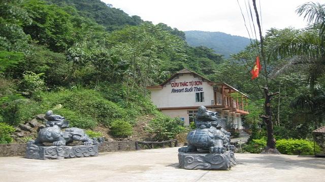Cửu thác Tú sơn Resort.