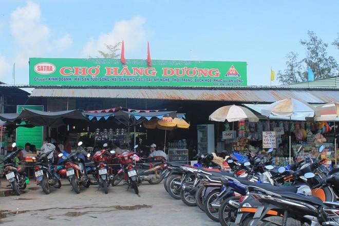 Chợ Hàng Dương, điểm du lịch hấp dẫn ở Cần Giờ.