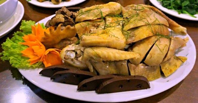 Gà đồi, món ngon ở Tam Đảo.