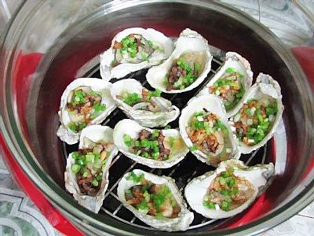 Hàu nướng - Hạ Long