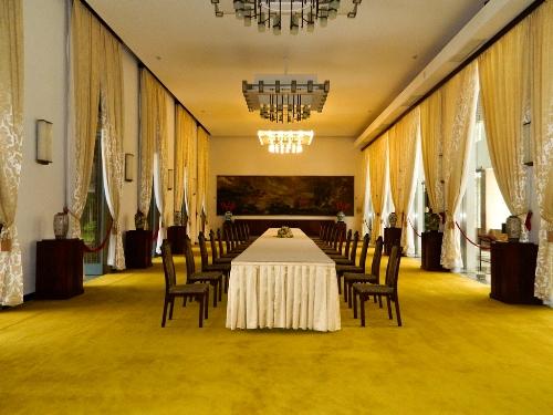 Phòng Đại yến, nơi tổ chức các cuộc chiêu đãi của tổng thống chính quyền trước năm 1975.