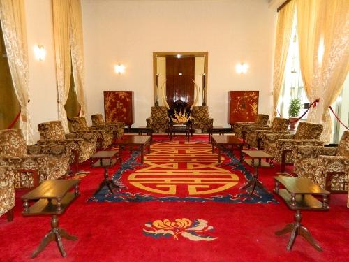 Phòng khách của tổng thống.